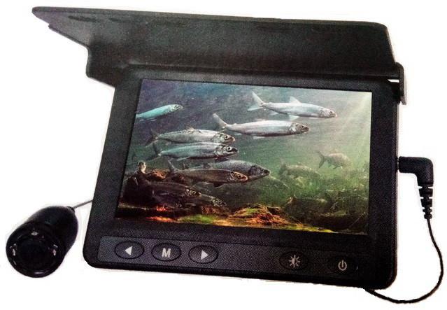 Подводная камера CARPCRUISER СC43-PRO-HD для зимней рыбалки высокая яркость экрана, кабель 15 м