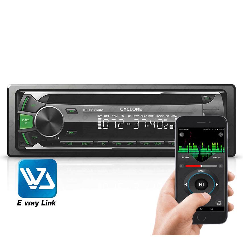 Автомагнитола MP3 проигрыватель CYCLONE MP-1019G MBA