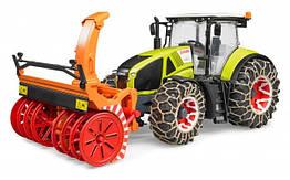 Іграшка-трактор Claas Axion 950 snow blower
