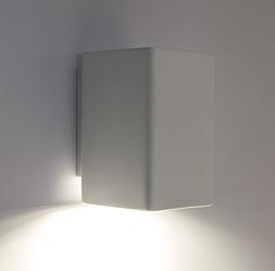 Настенный гипсовый светильник LUMINARIA , бра GYPSUM LINE Dublin S1809 WH (Белый)
