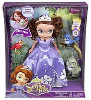 Кукла принцесса София с питомцами от Disney Говорящая, фото 1