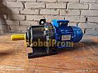 Мотор-редуктор планетарный 3МП 40 на 140 об/мин, фото 4