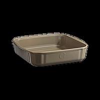 Форма керамическая для запекания Emile Henry 28*26 см кремень 952080