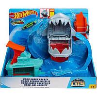 Автомобильный трек Mattel HotWheels Голодная Акула (GJL12)