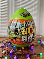 Детский игровой набор для творчества Яйцо Динозавра Dino WOW Box Danko Toys