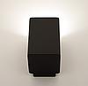 Настенный гипсовый светильник LUMINARIA, бра GYPSUM LINE Dublin S1809 BK (Чёрный), фото 2