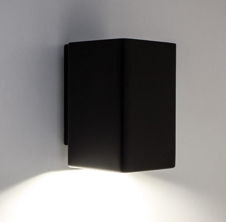 Настенный гипсовый светильник LUMINARIA, бра GYPSUM LINE Dublin S1809 BK (Чёрный)