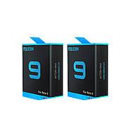 Набор Telesin: Зарядное устройство на три места + два аккумулятора для GoPro HERO 9 Black, фото 3