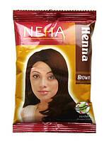 Хна для волос Neha Henna Brown коричневая, 20 г.