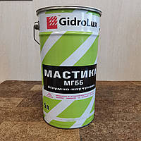 Мастика битумно резиновая для гидроизоляции 5 литров