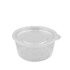 Соусница (прозрачная) пластиковая с крышкой 50мл 1уп/100шт
