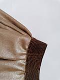 Нарядный детский комплект р.104,110,116,122 для девочки блузка и юбка  SmileTime Lux, бежевый, фото 4