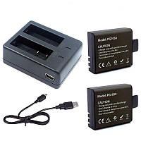 Акумулятор pg1050 + зарядка для екшн камер pg900 EKEN, SJCAM