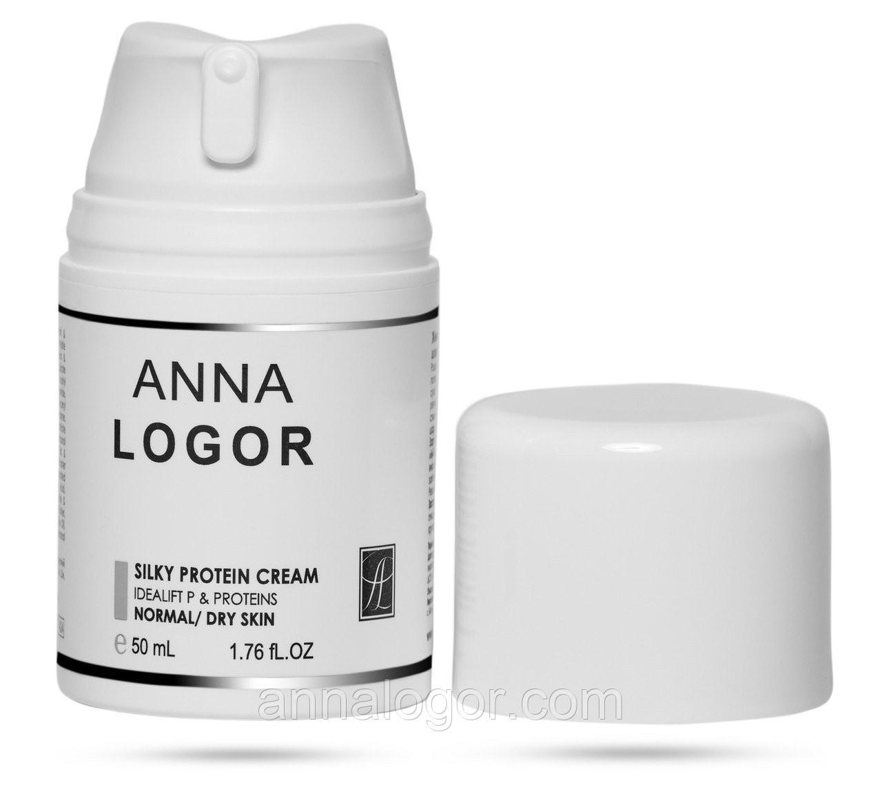 Крем питательный с протеинами шелка Anna LOGOR Silky Protein Cream 50 ml Art.424