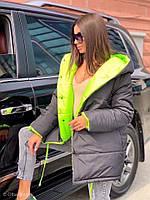 Зимняя двухсторонняя куртка 0257/1-4424, фото 1