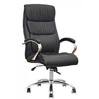 Кожанное черное кресло руководителя Special4You Eternity Black