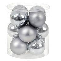 Набор новогодних шариков на елку 12 шт*4 см, фото 1