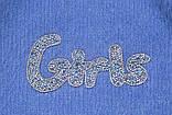 Костюм для дівчинки светр і спідниця SmileTime Holiday, синій, фото 2
