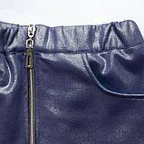 Костюм для дівчинки светр і спідниця SmileTime Holiday, синій, фото 5