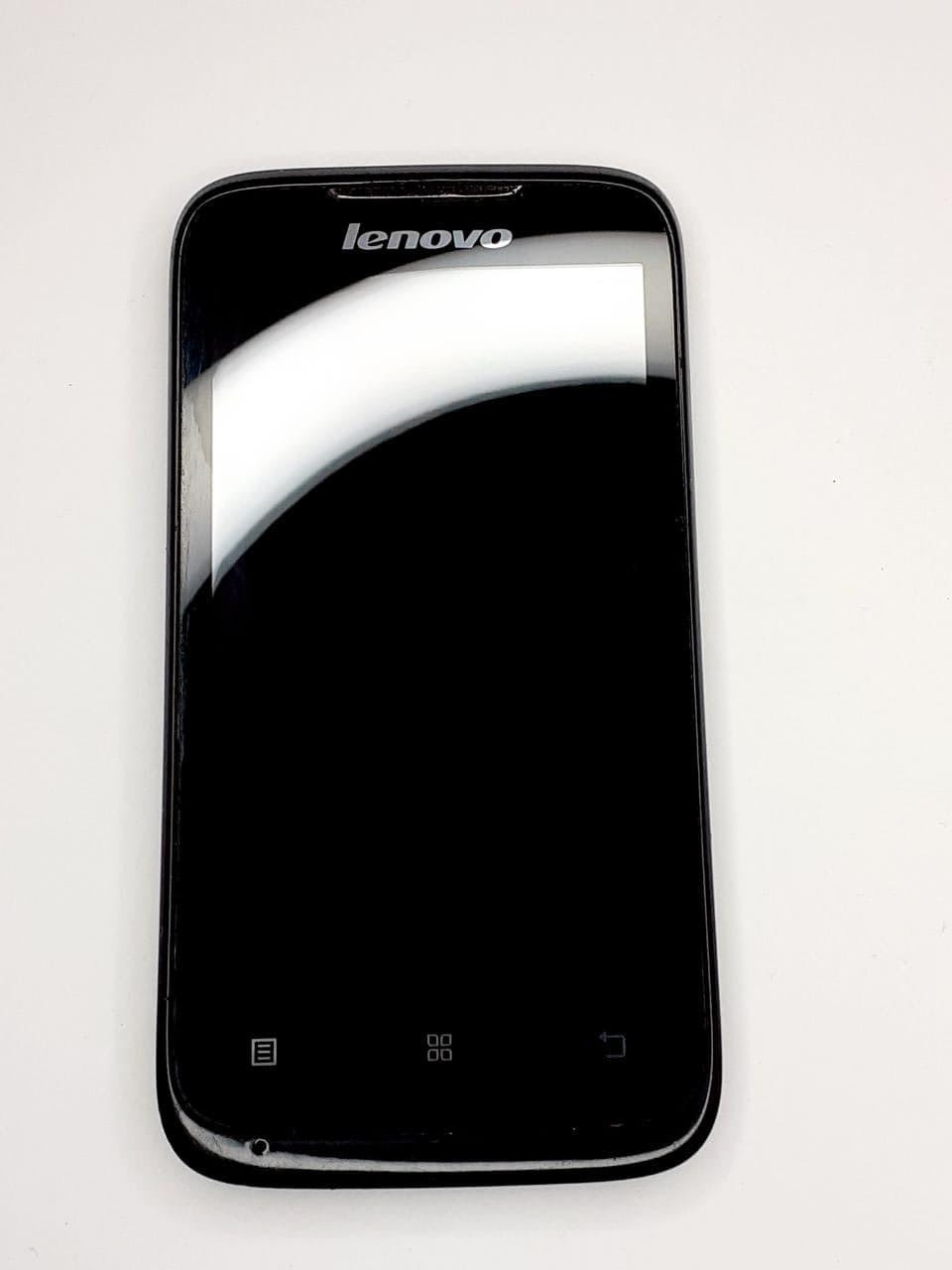 Дисплейний модуль чорний Lenovo A369 / A369 оригінал б.у.