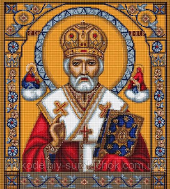 Набор для вышивки крестом Luca-S B421 Святой Николай