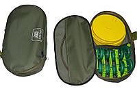 Набор жерлиц сумских оснащенных 10шт с сумкой