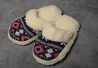 Чуни домашние, чуни из овечьей шерсти, комнатные тапочки, розмер 39, фото 1