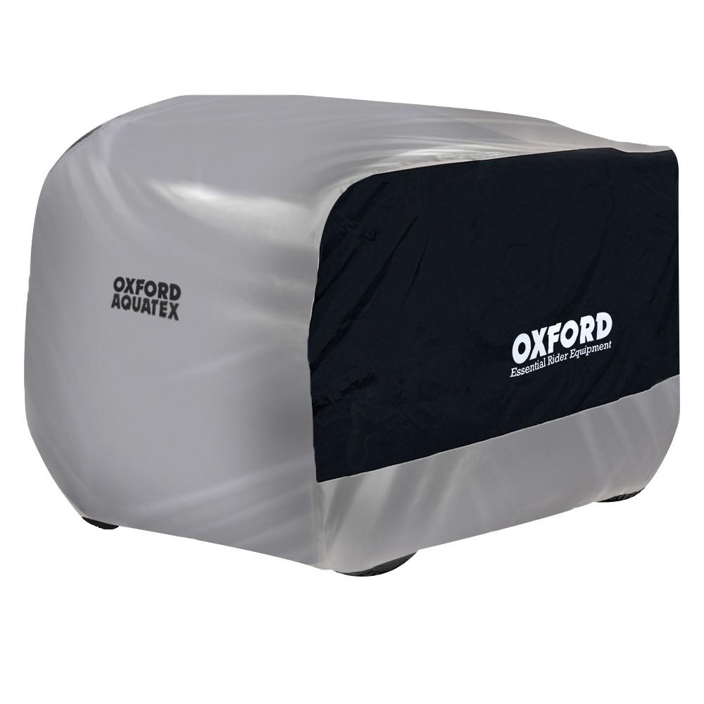 Чохол для квадроцикла OXFORD AQUATEX ATV BLACK-SILVER LARGE CV210