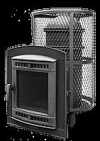 """Банная печь""""Атмосфера Про"""" с сеткой из нержавеющей  стали   до 32 м3"""
