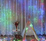 """Светодиодная LED гирлянда """"Водопад"""" 3х1,5м, фото 3"""