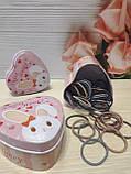 Набор резиночек для волос в жестяной коробочке Sweet honey 55 шт, фото 3
