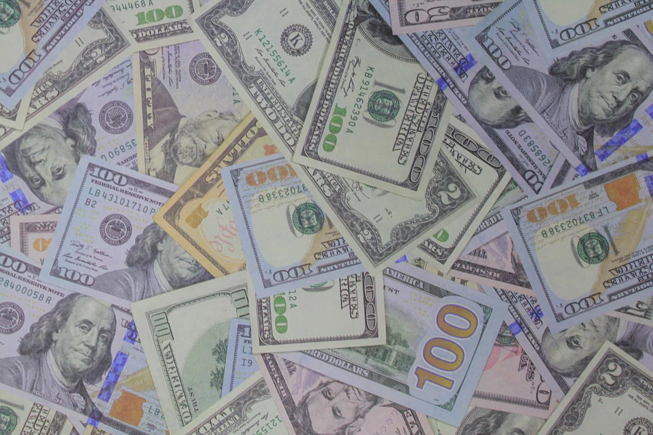 Упаковочная бумага деньги крафт