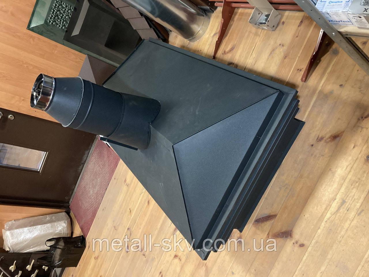 Колпак на дымоход с ламелями Ruukki 0.5мм