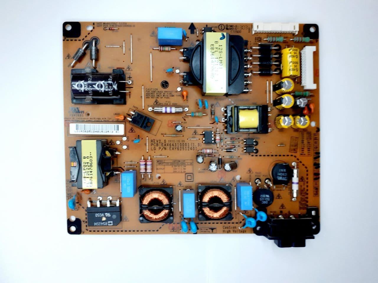 Блок питания  EAX64310001, EAY62512401, LGP32M-12P для телевизора  LG 32LS570T