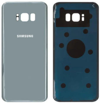 Задняя панель корпуса (крышка) для Samsung G955 Galaxy S8 Plus Duos (Серебристая) Оригинал Китай