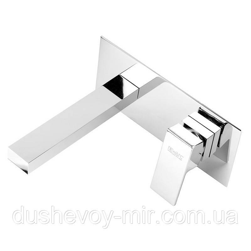 Смеситель для умывальника скрытого монтажа Silver 851571 NEWARC