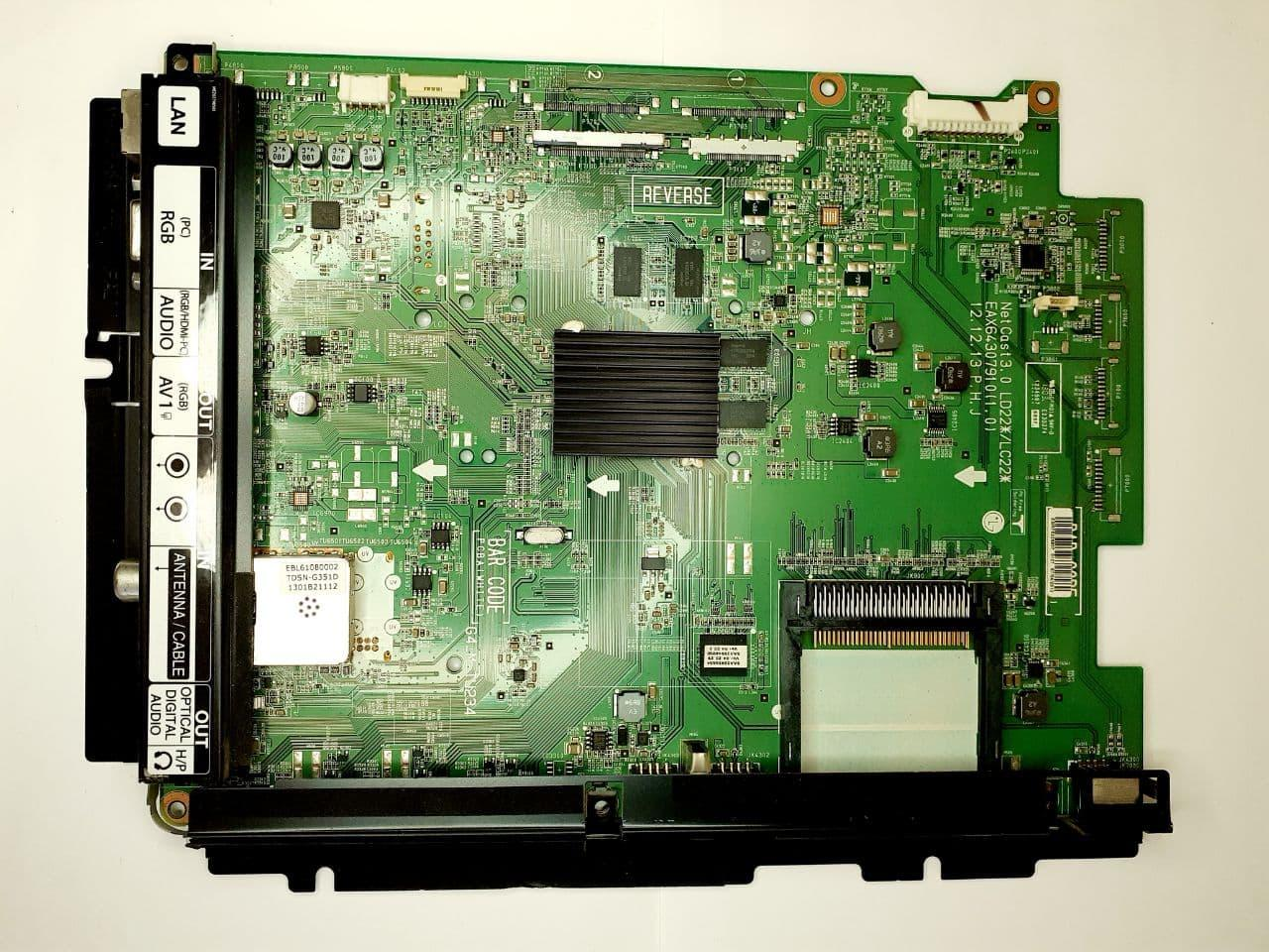 Плата Main для телевізора LG 42lm EAX64307910 (1.0) LD22