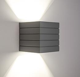 Настенный гипсовый светильник LUMINARIA, бра GYPSUM LINE Norwich S1807 В GR (Серый) (Україна)