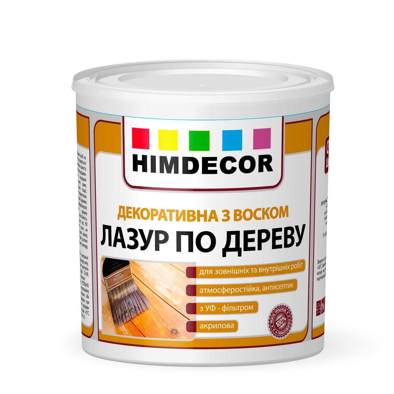 Лазур по дереву Himdecor Shedevr СК-10 Біла