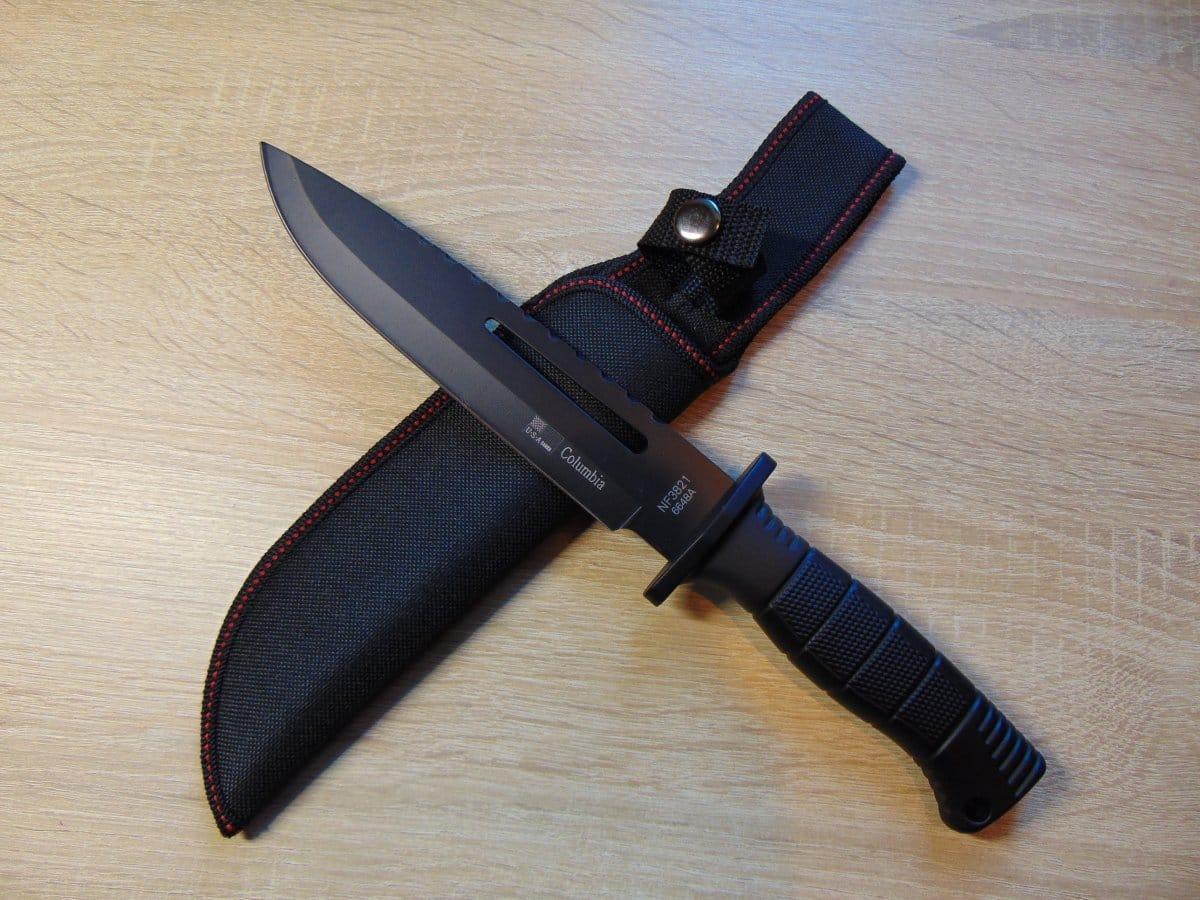 Нож охотничий Columbia 6648А для охоты, рыбалки, туризма
