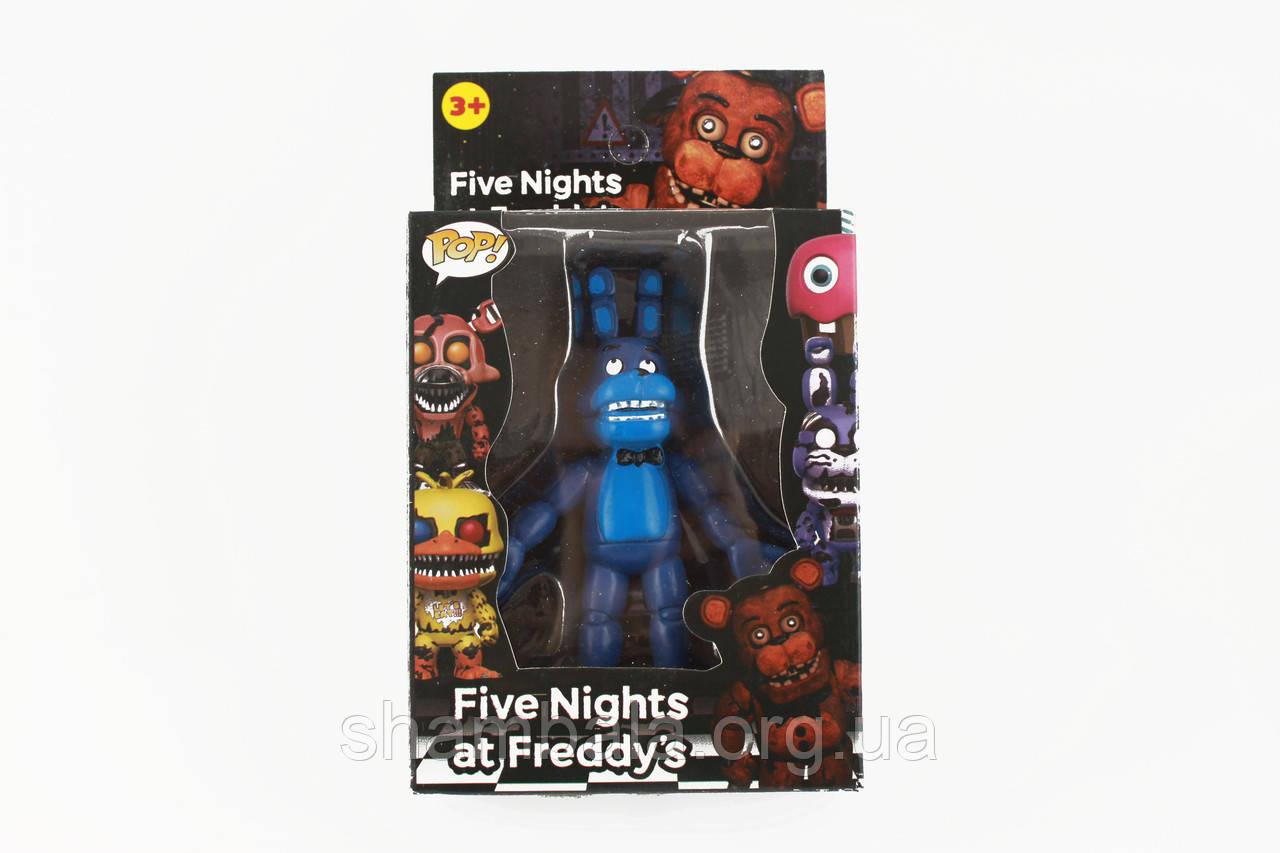 Фігурка кошмарного аніматроніка Бонні з гри П'ять Ночей з Фредді в індивідуальній упаковці (090573)