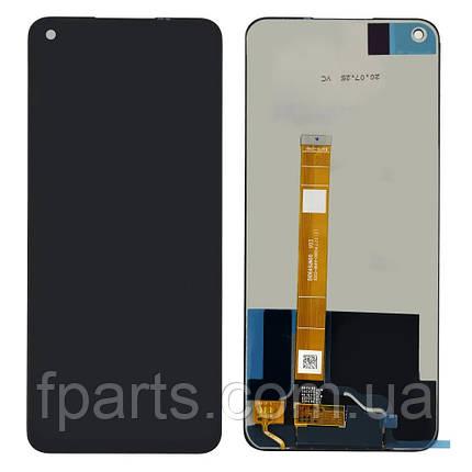 Дисплей для Realme 6 с тачскрином, Black (Original PRC), фото 2