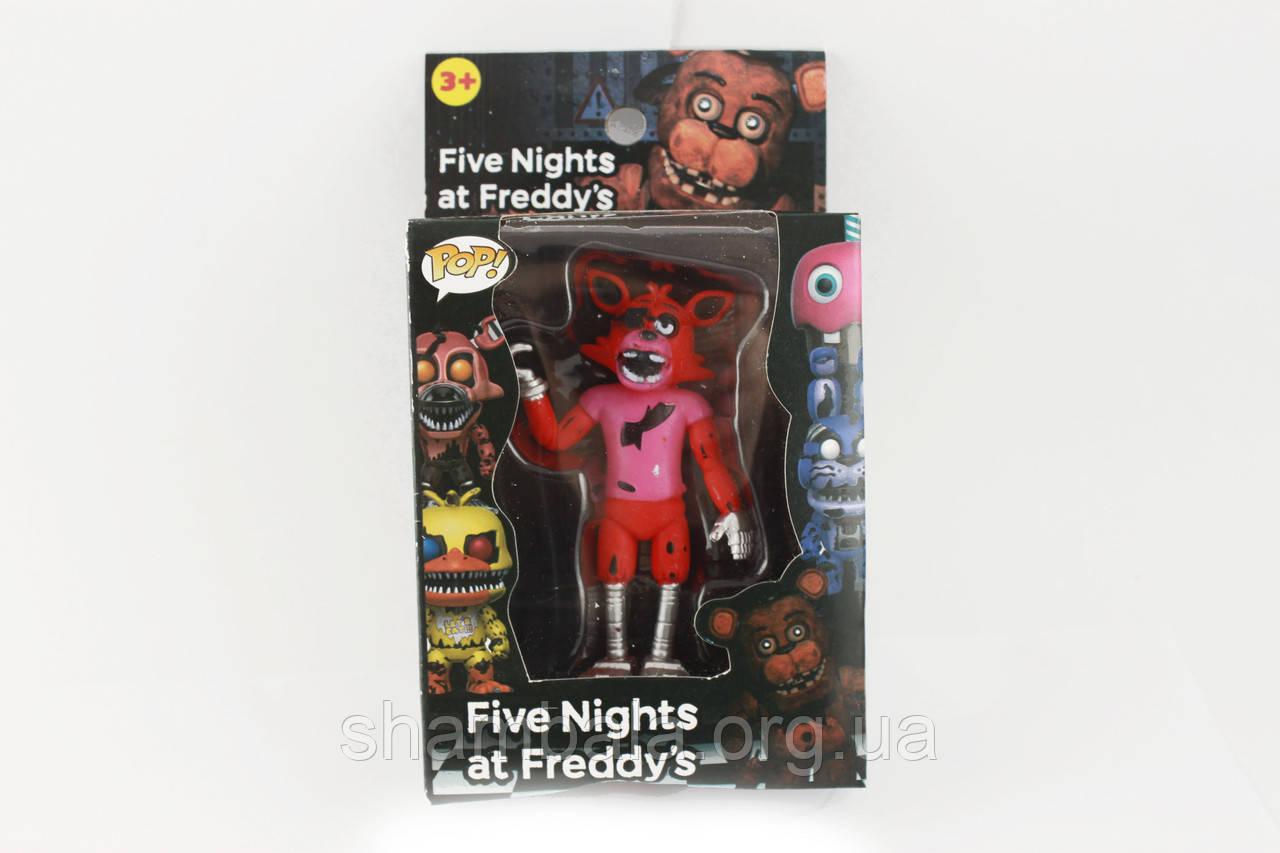 Фігурка кошмарного аніматроніка Фоксі з гри П'ять Ночей з Фредді в індивідуальній упаковці (090573)