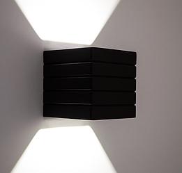Настенный гипсовый светильник LUMINARIA, бра GYPSUM LINE Norwich S1807 В BK (Чёрный)