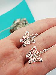 """Срібні сережки """"Метелики"""""""