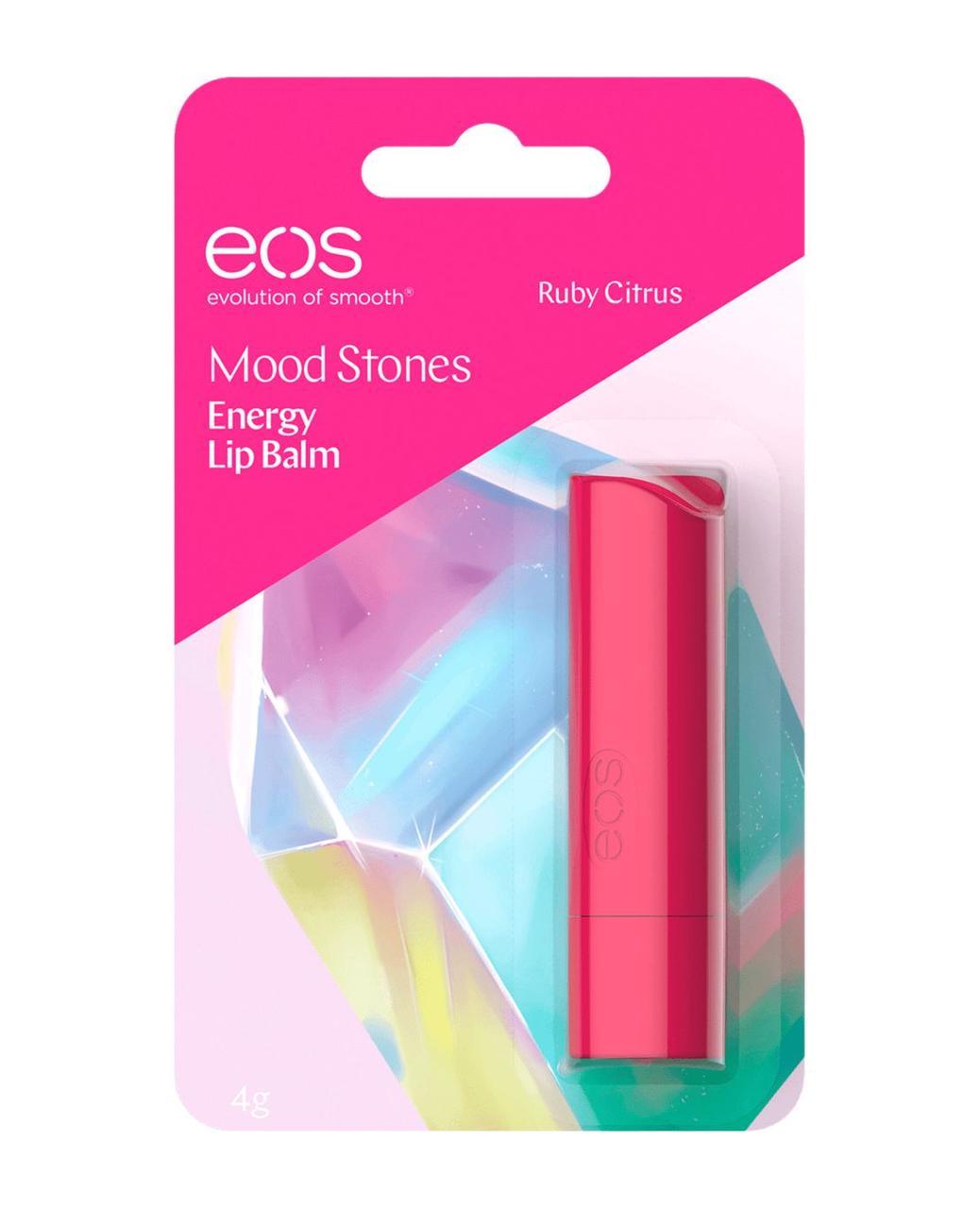 Eos Mood stones Ruby Citrus Бальзам-стик для губ 4г