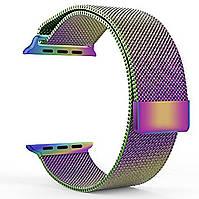 Магнитный ремешок Milanese Loop для Apple Watch 42 / 44 | Chameleon | DK