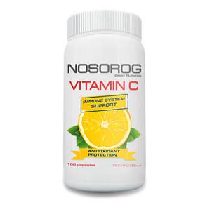 NOSORIG Nutrition Vitamin C 100 caps, фото 2