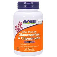Glucosamine & Chondroitin, Глюкозамин и хондроитин - для укрепления суставов и хрящей, 60 таб.
