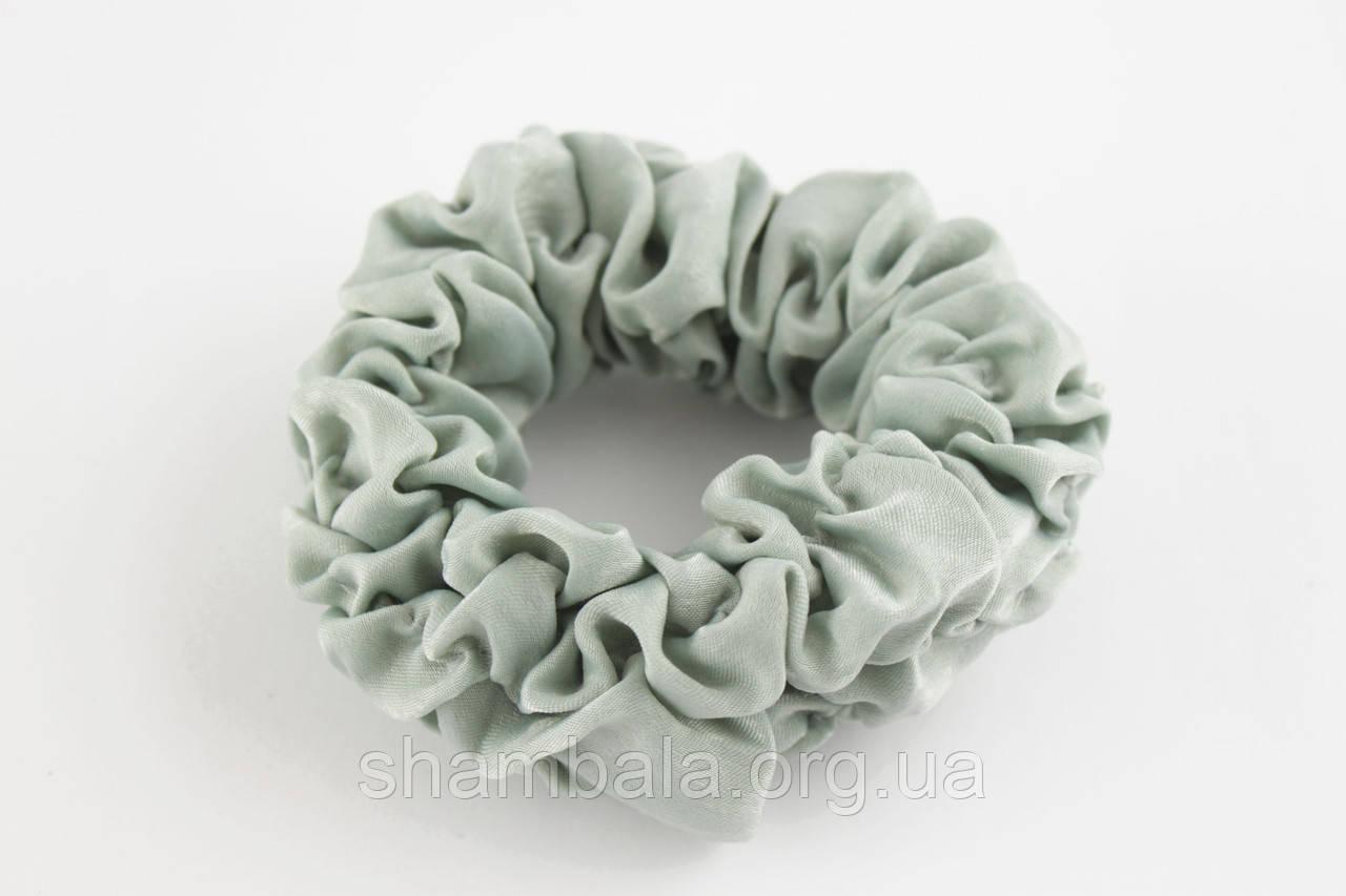 Гумка для волосся Xuping Jewelry шифон Сіро-зелений (026398)